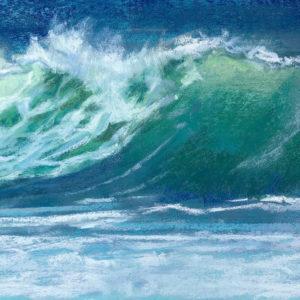 Sandra Kavanaugh Sea Jewels #53 pastel 5.5x7.5 175