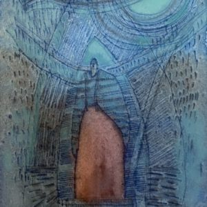 Ann Trainor Domingue Textured Life watercolor 6.5x9.5 150