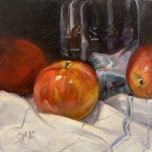Sandra Kavanaugh Ball Jar oil 6x6 125