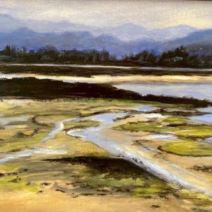Doreen Boissonneault Tidal Marsh oil 11.5x9 550