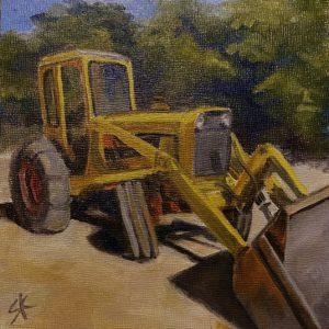 Sandra Kavanaugh Old Casi oil 6x6 150