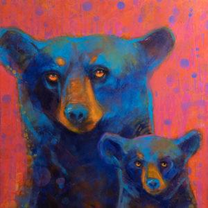 Rosemary Conroy Ursa Major and Minor acrylic 32x35 2498