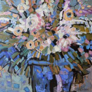 Cheryl Vratsenes Spring Fling I acrylic 36x36 2500