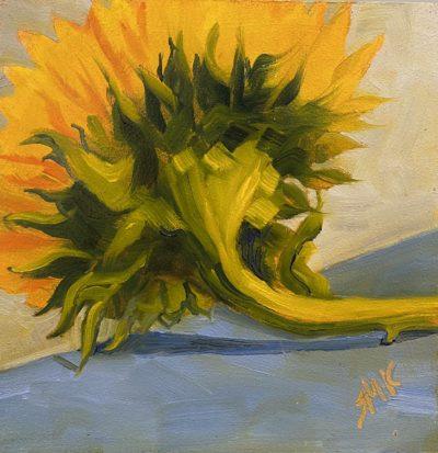 Sandra Kavanaugh Sunflower oil 6x6 125