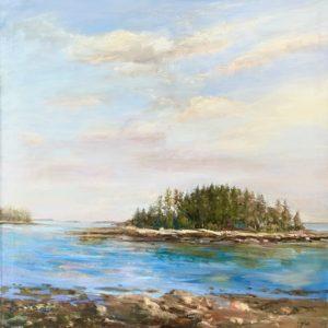 Celia Judge Offshore Island oil 30x30 4500