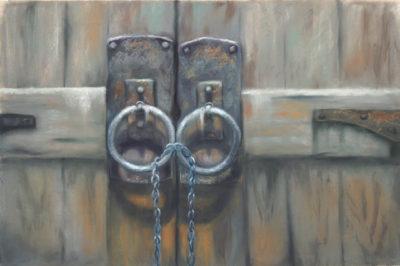 Josee Severino Lost Keys pastel 24x40 3000