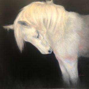 Josee Severino Enchanted pastel 24x24 1600