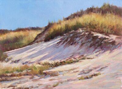 Afternoon Dunes Sandra Kavanaugh oil 18x24 800