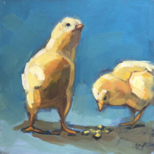 Besty Schulthess Meal Time oil 8x8 450