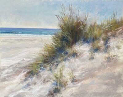 Summer Fun Dunes Sandra Kavanaugh pastel 16x20 650