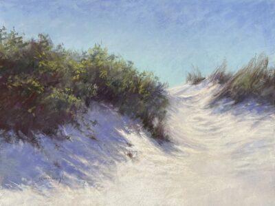 Dune Lights Sandra Kavanaugh pastel 18x24 800