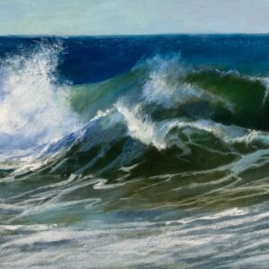 Sandra Kavanaugh pastel 18x36 1300