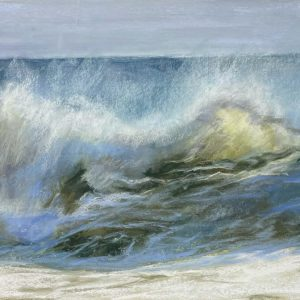 Sandra Kavanaugh Neptune's Song Pastel 12x24 800