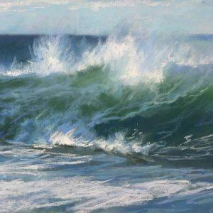 Sandra Kavanaugh Atlantic Fury Pastel 12x24 800