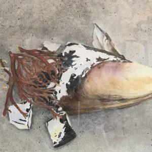 Darlene Robyn Beautifully Broken Watercolor 350