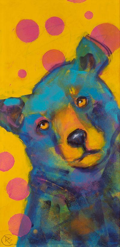 Rosemary Conroy Party Animal (Janie) Acrylic 29x16 1298