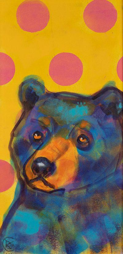 Rosemary Conroy Party Animal (Susie) Acrylic 29x16 1298