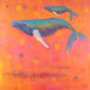 Rosemary Conroy Whole Lotta Love Acrylic 48x48 4998
