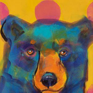 Rosemary Conroy Party Animal (Jenni) Acrylic 29x16 1298