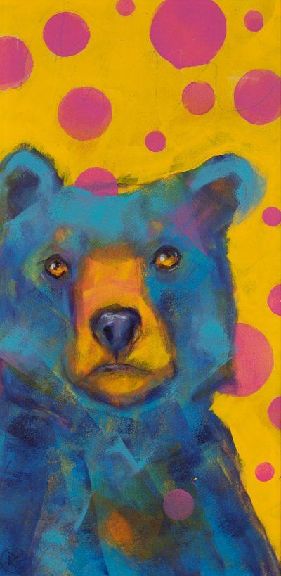 Rosemary Conroy Party Animal (Cara) Acrylic 29x16 1298