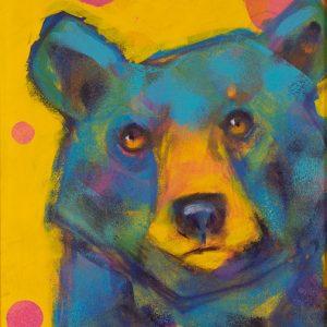 Rosemary Conroy Party Animal (Rosie) Acrylic 29x16 1298