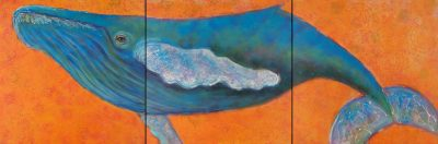 Rosemary Conroy Hopelessly devoted to you acrylic 30x90 5998