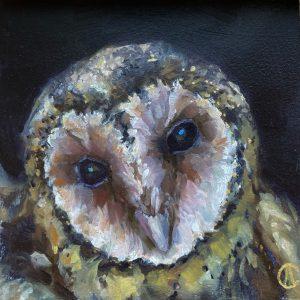 Cynthia Arieta Nocturne Oil 6x6 250