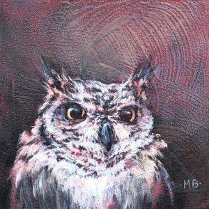 Marcia Blakeman Moe Acrylic 6x6 225