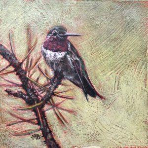 Marcia Blakeman Nature's Gem Acrylic 6x6 225