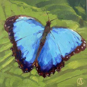 Cynthia Arieta Wings Oil 6x6 250