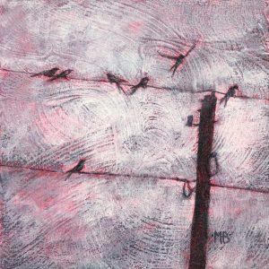 Marcia Blakeman Shallow Landing Strip Acrylic 6x6 225