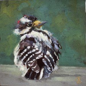 Cynthia Arieta New Wings Oil 6x6 250