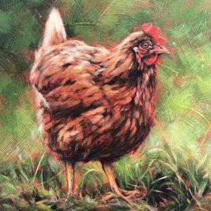 Marcia Blakeman Hennie Acrylic 14x18 800
