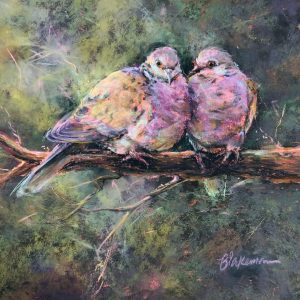 Marcia Blakeman Together Forever Pastel 11x11 695