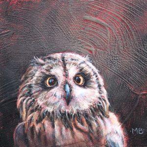 Marcia Blakeman Curly Acrylic 6x6 225